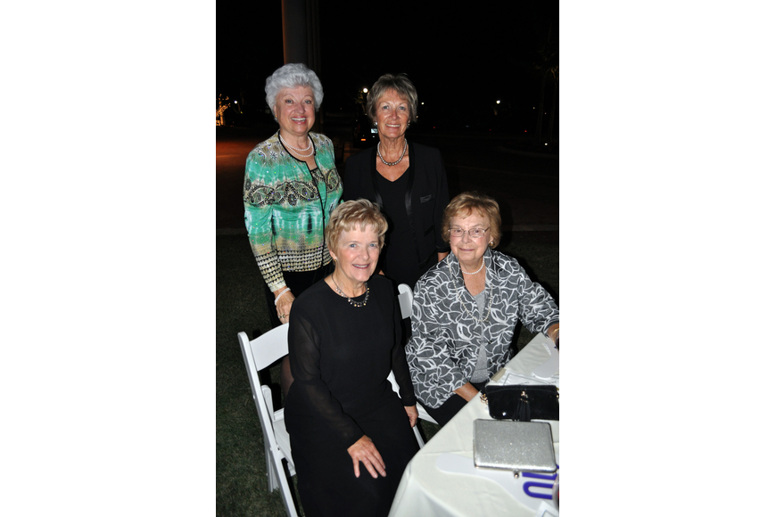 Phyllis Smith and Marjorie Miller with Carol Reimers and Edith Mueller