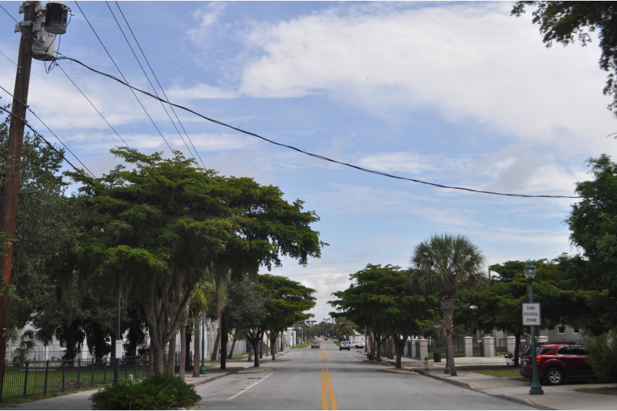 Central Avenue and Ninth Street — Salvation Army Sarasota