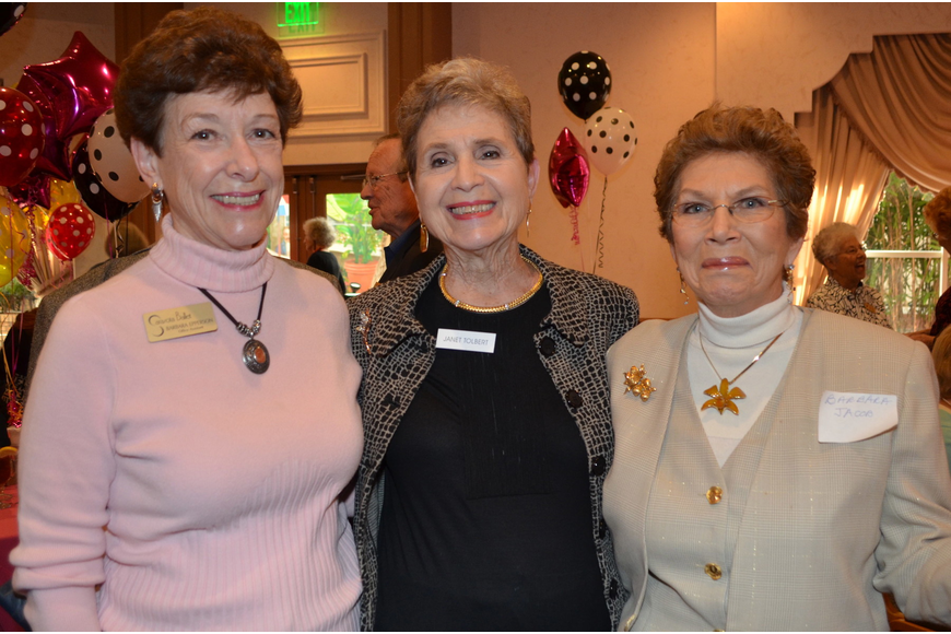 Barbara Epperson, Janet Tolbert and Barbara Jacob