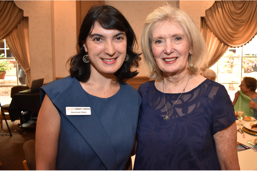 Hermione Gilpin and AJC Regional President Anne Virag