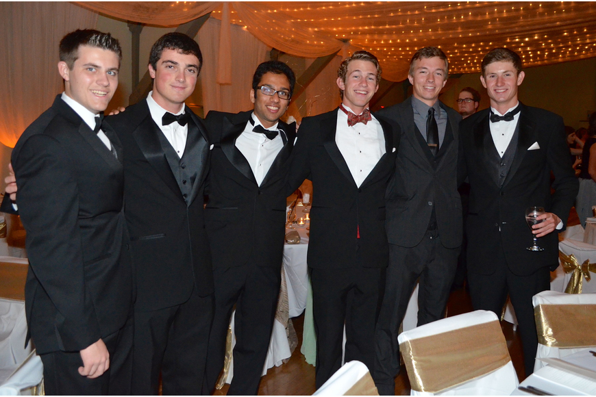 Michael Lonas, Chris Cantillo, Chetan Patel, Andre Dupuis, Ryan Day and John Pelton