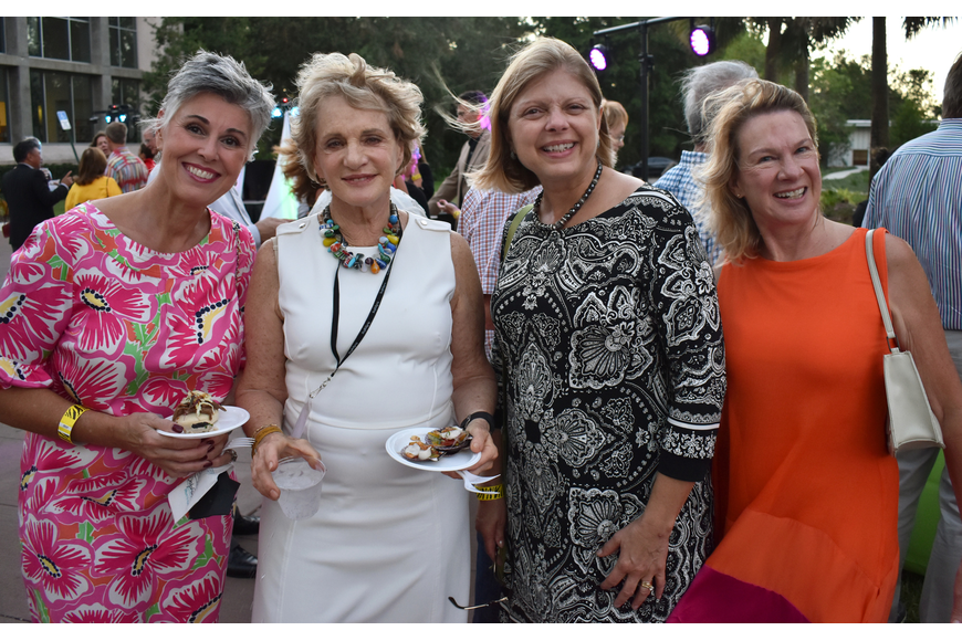 Peggy Shannon, Charlotte Perret, Cathy Vernon and Anne Taylor