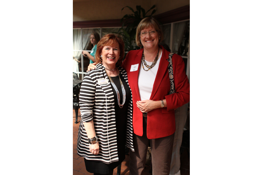 Mary Beth Bos and Linda Getzen