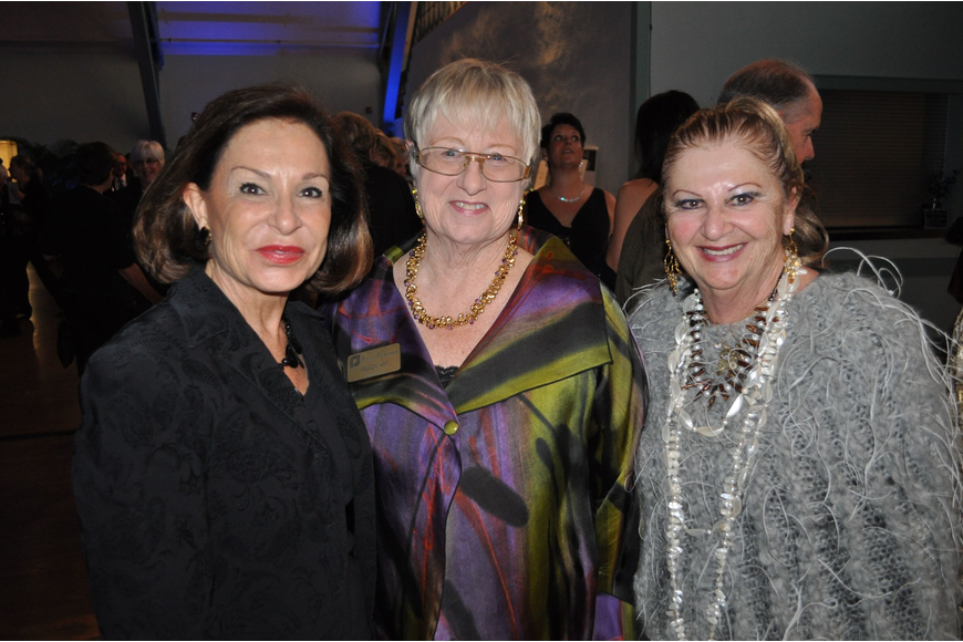 BJ Creighton, Peggy Abt and Renee Hamad