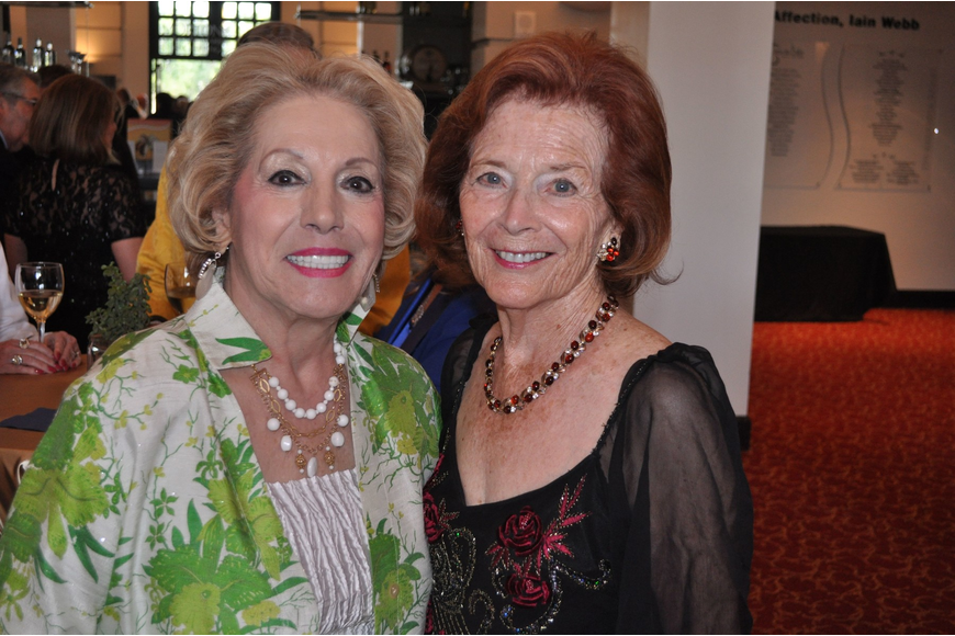 Chairwoman Lee Peterson and honorary chairwoman Ruth Kreindler