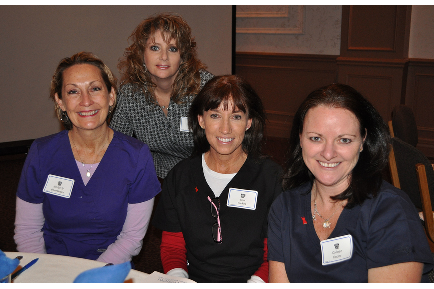 Kimberly Bourdeaux, Darlene Marks, Tina Parkes and Colleen Lindner