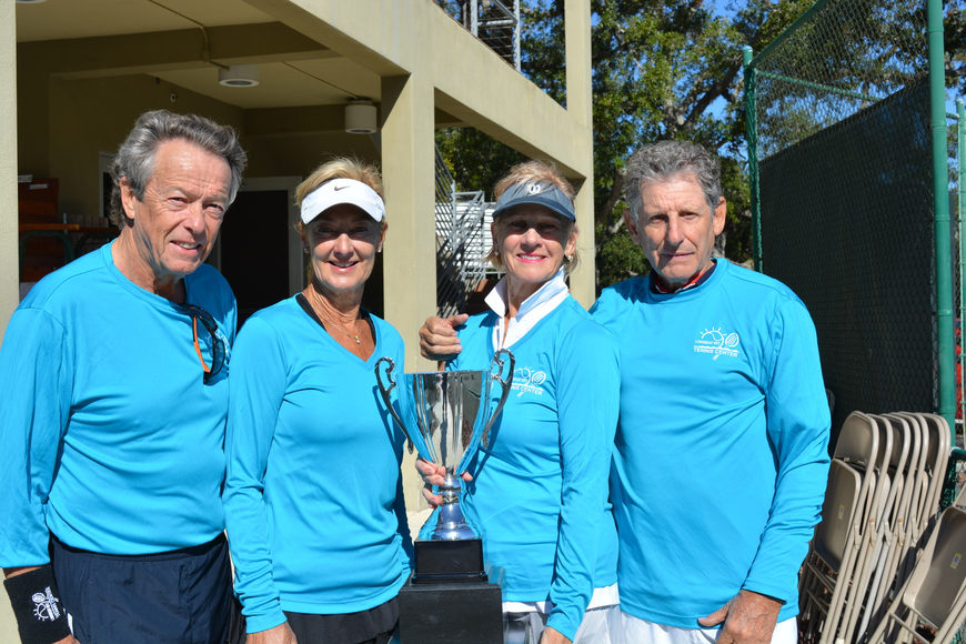 Bruno Mauprivez, Linda Gillott, Ute Vela and Enrique Vela won the Division 2 title by one point.