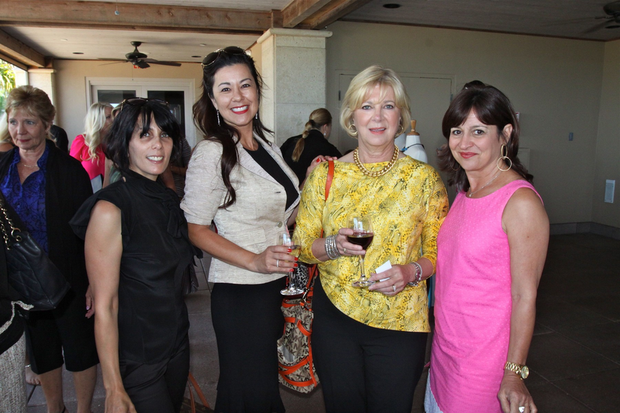 Jacquie Florio, Rosemary Angeleri, Linda Cornell and Laurie Gomes
