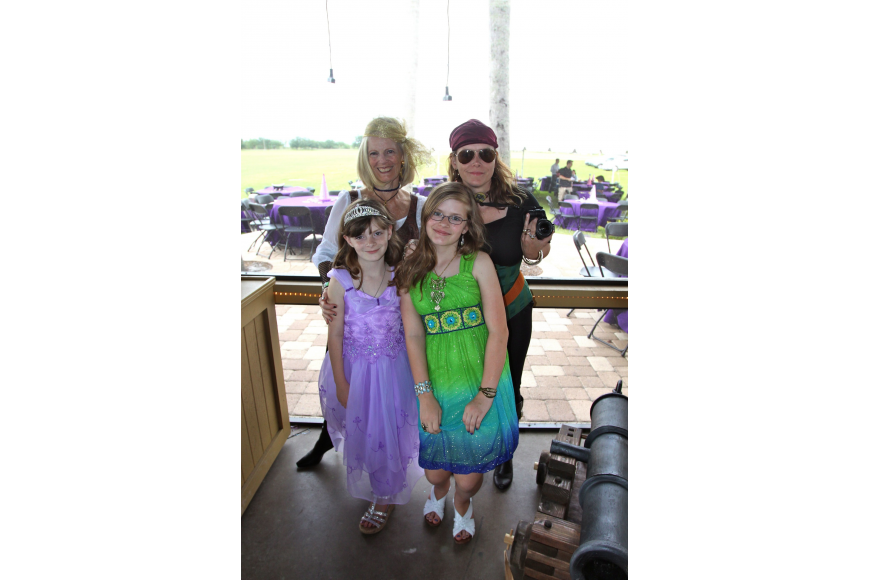 Jan West and Samantha West with Delaney West, 11, and Makenna West, 8.