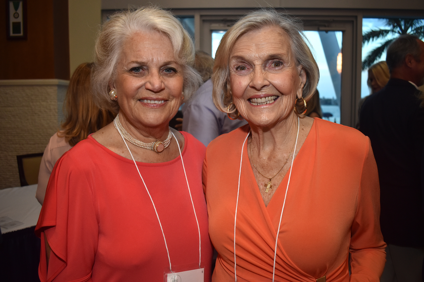 Judy Cox and Rose Mary Bond