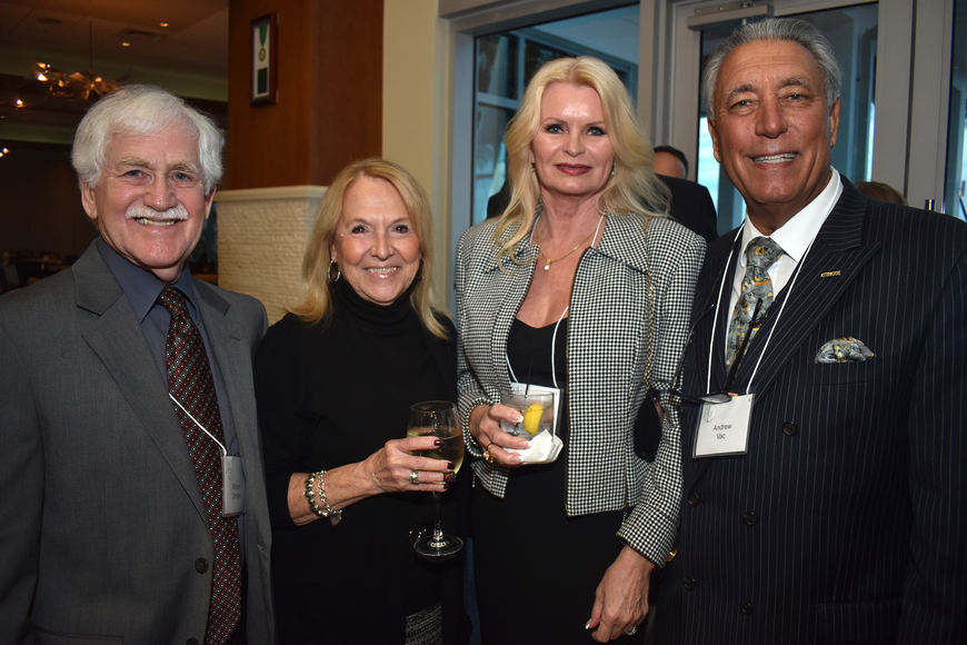 Richard and Diana Corrigan, Ramona Glanz and Andrew Vac