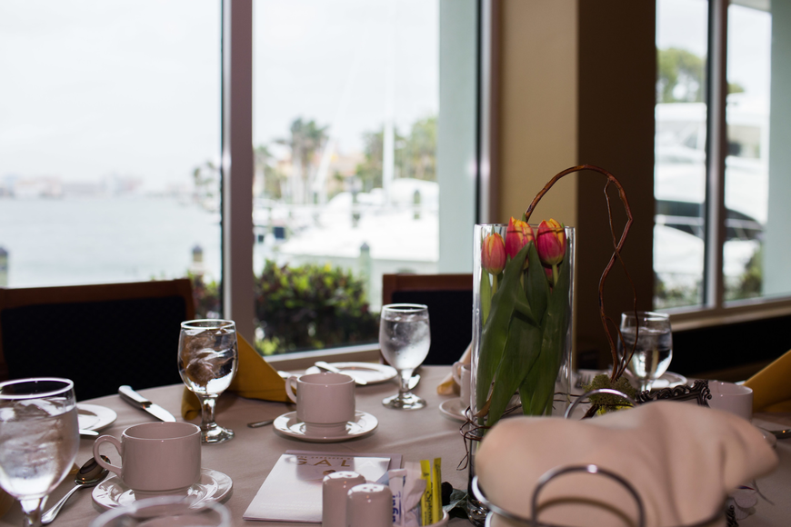 The Showcase Luncheon was held at the Bird Key Yacht Club.
