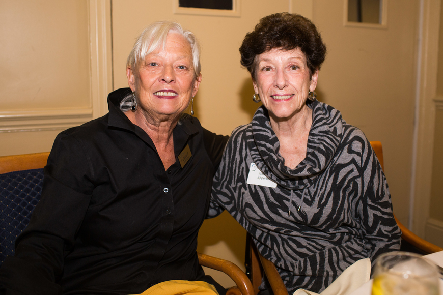 Louise Stevens and Barbara Epperson