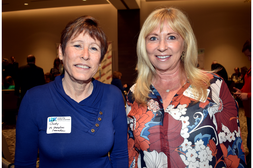 Cindy Steiner and Michele Knuese