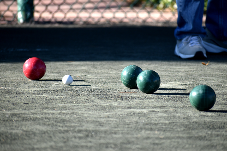 Club Longboat began playing bocce tournaments in early March.
