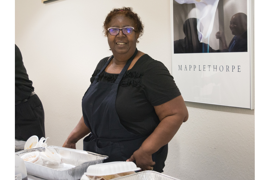 Jone Williams, of Williams Catering, provided the meal for the event.