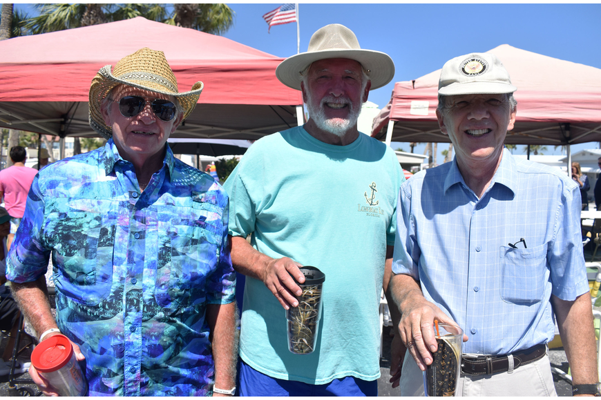 Steve Chapin, Jack Brininger and Bill Tow