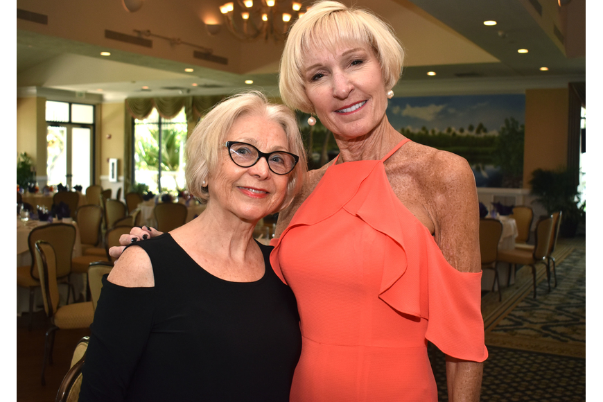 Marie Grayber and Sandy Kier