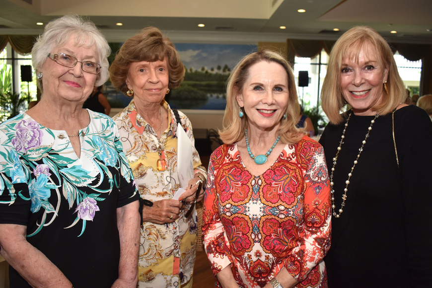 Marion Huffmire, Pat Knasiak, Tracy Seider and Sandy Strom