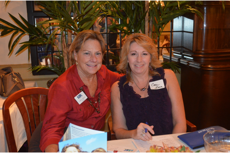 Chamber President Gail Loefgren and Executive Assistant Cori Lane
