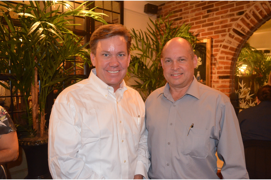 Don Johnson and Robby Robertson, of Paradigm Broadway Consultants