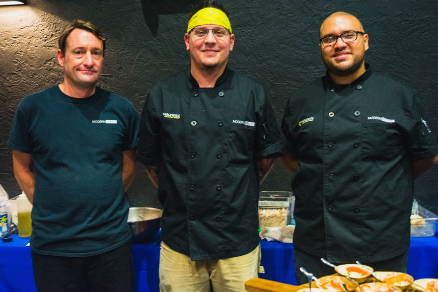 Tableseide Restaurant Group's Chris Payne, Mike Yoder and Victor Gaviria
