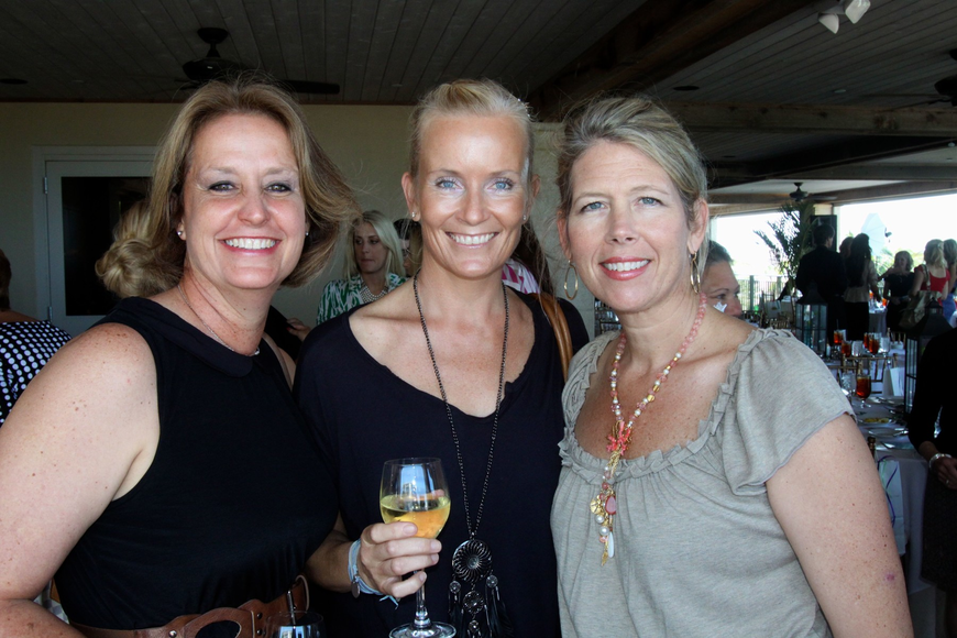 Mary Ann Gaines, Marie Sellberg and Roberta Tengerdy