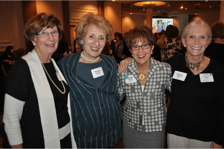Jan Joseph, Norma Weitman, Bobbi Bernstein and Audrey Bayer