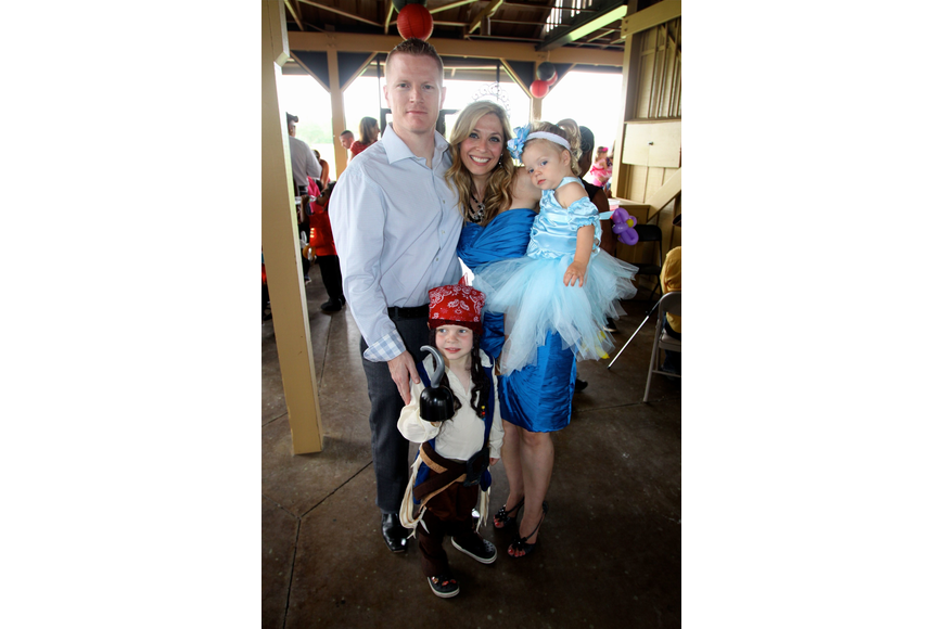 Kevin and Denise West with their children Kayden, 4 ½, and Kylie, 18 mos.