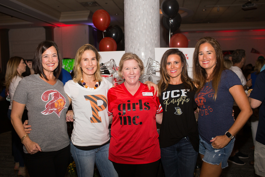 Co-Chairwomen Mary Pat Radford and Heidi Anderson, CEO Angie Stringer and Co-Chairwomen Shana Zamikoff and Stephanie Kempton