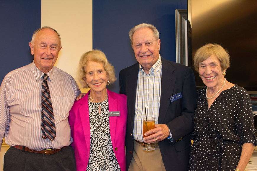 Frederick and Diana Emrich with Phil Kreis and Jane Perin