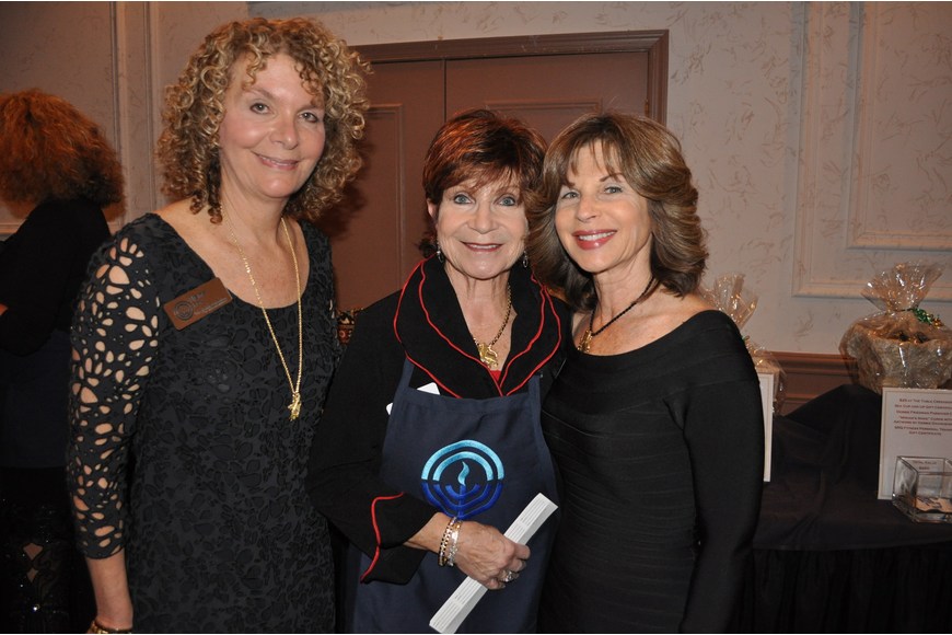 Ilene Fox, Irene Ross and Nancy Swart