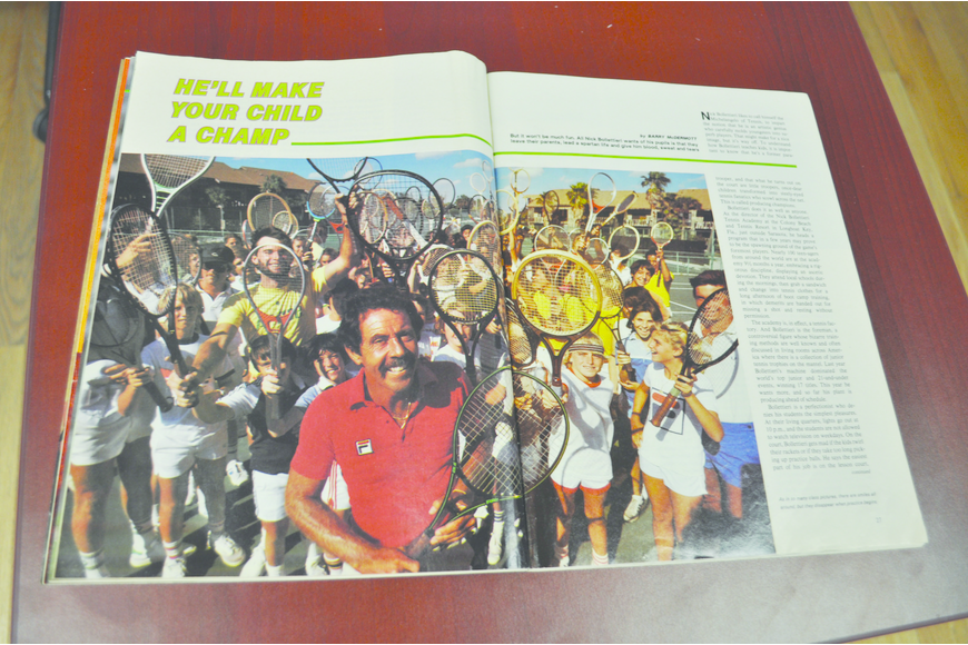 Nick Bollettieri came to the Colony in 1977 to create a tennis academy, ultimately training some of the top junior players into mainstays of the professional game.  Sports Illustrated took notice in 1980 with a feature story.
