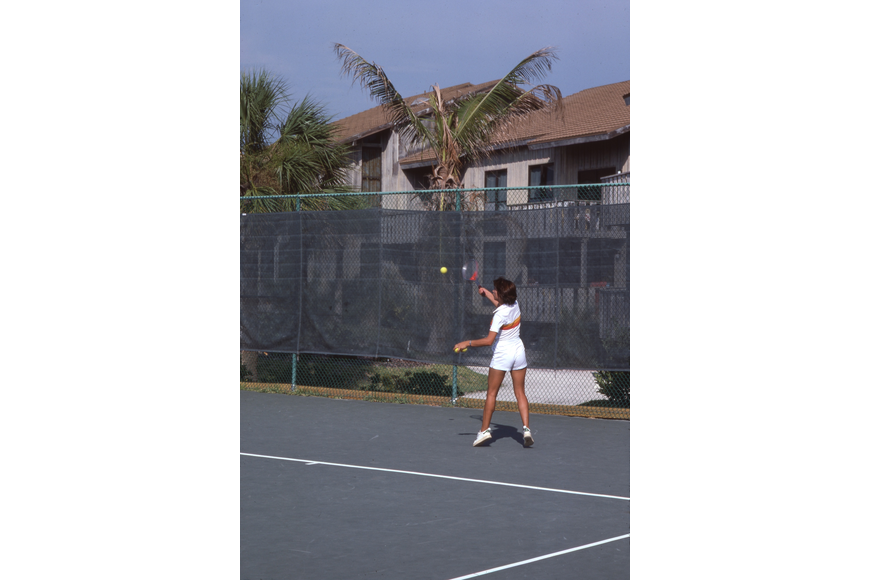 Tennis at the Colony.