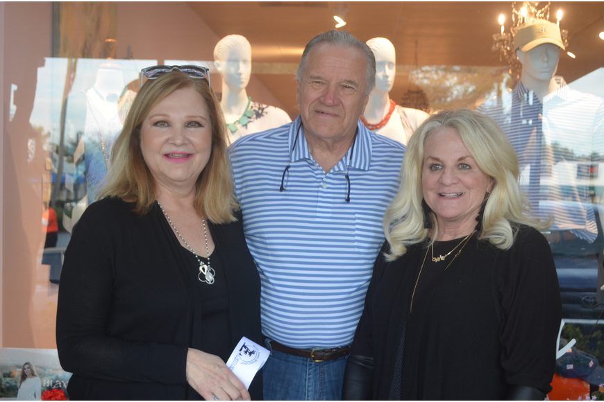 Owners of Swell Things, Wanda and John Mange, with employee Gayle Leister