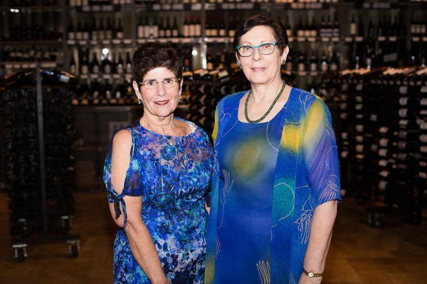 Co-Presidents Cindy Solomon and Joyce Hersh