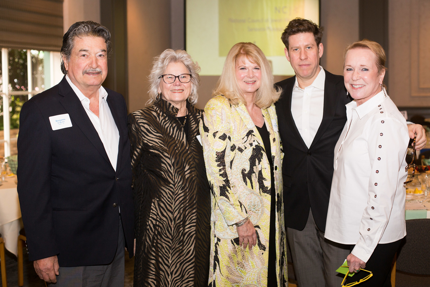 Benjamin and Frances Di Martino, Mike and Honoree Jo Rutstein and Maggie Hutter
