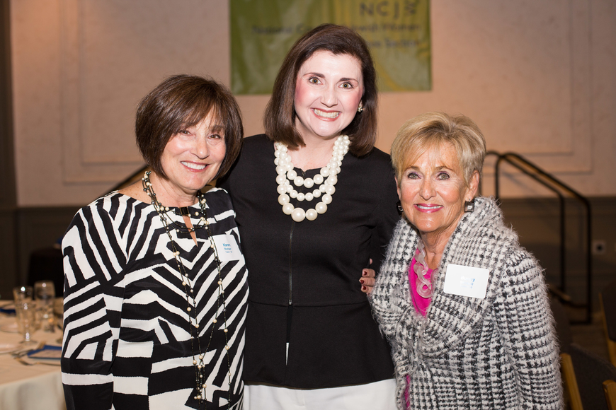 Co-Chairwoman Karen Pariser, Jessica Rogers and Bunny Skirboll