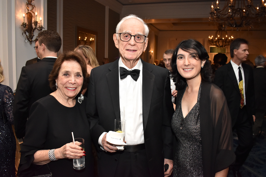 Judy Rudgers, Stan Katz and Hermione Gilpin