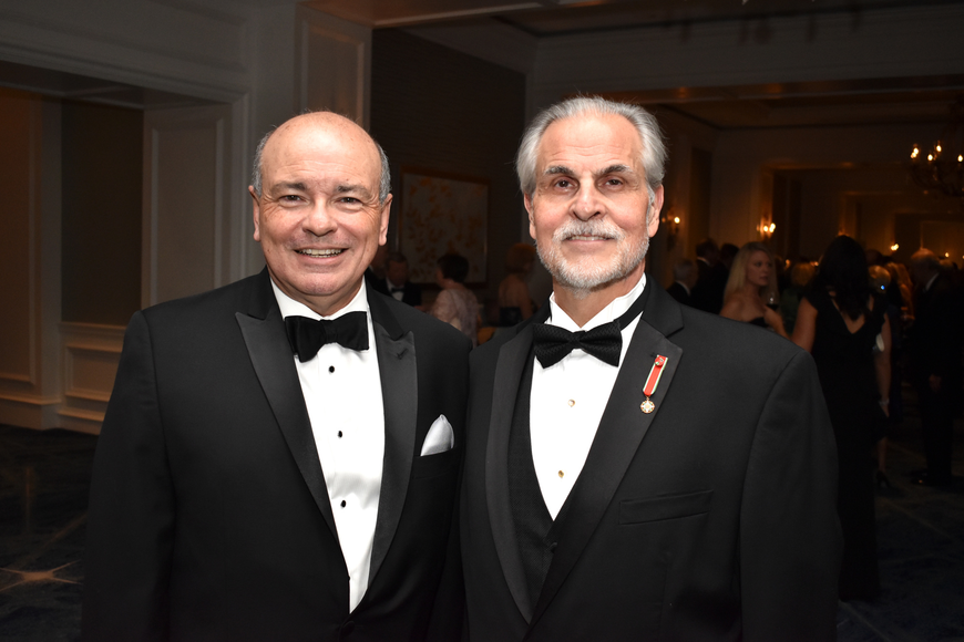 Executive Director Richard Russell and Maestro Victor DeRenzi