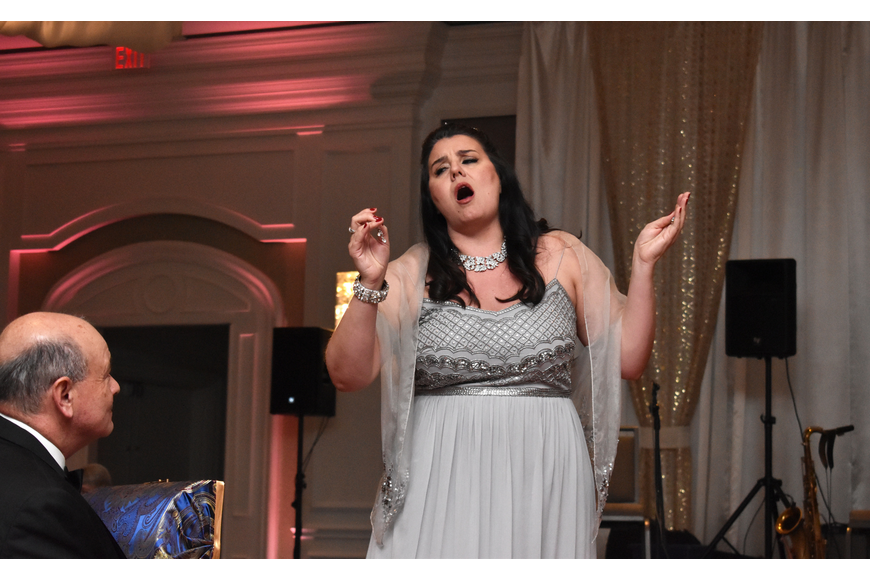"Soprano Rochelle Bard sings ""Jewel Song"" from ""Gounod's Faust."""
