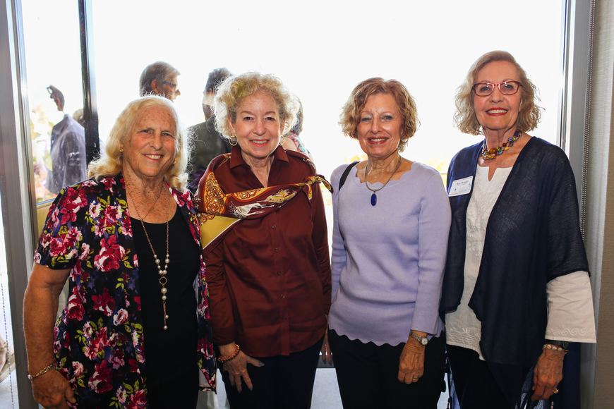 Belle Probst, Donna Lerner, Ileen Isaac and Sue Rosin