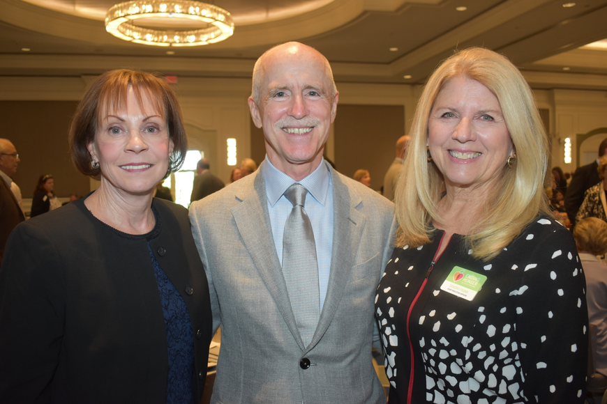 Joanne Powers, Peter Powers and Sandra Frank