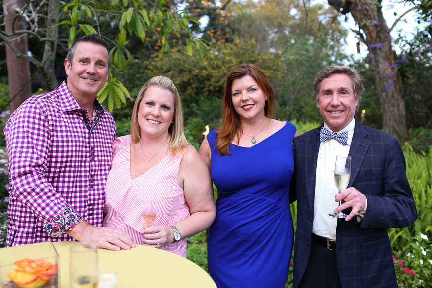 Wine Host Craig and Kimberlee Leslie with Kelly Fried and Sean King