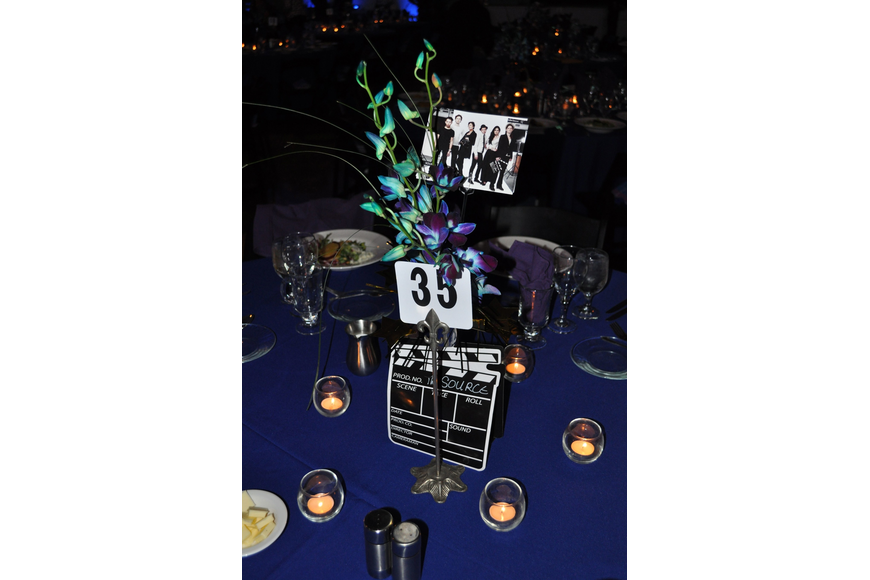 One of the centerpieces.
