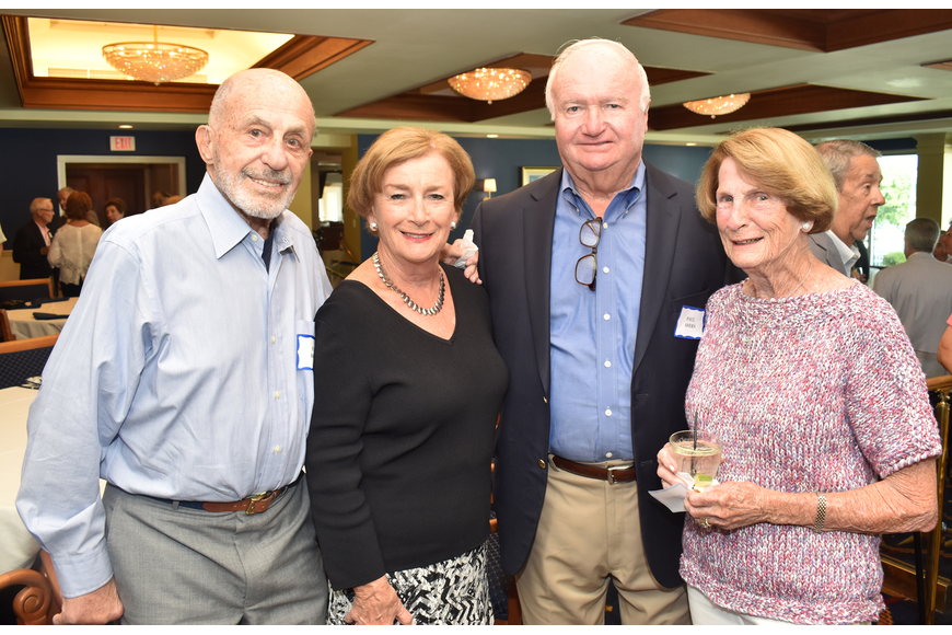Stan Brown, Mary and Paul Ahern and Barbara Brown