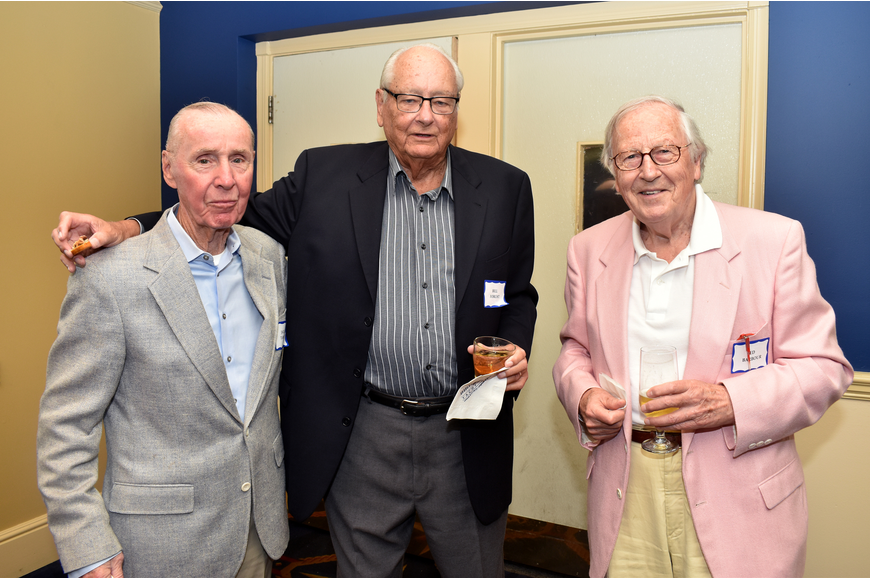 Jack Tansey, Bill Forcht and Ed Barbour