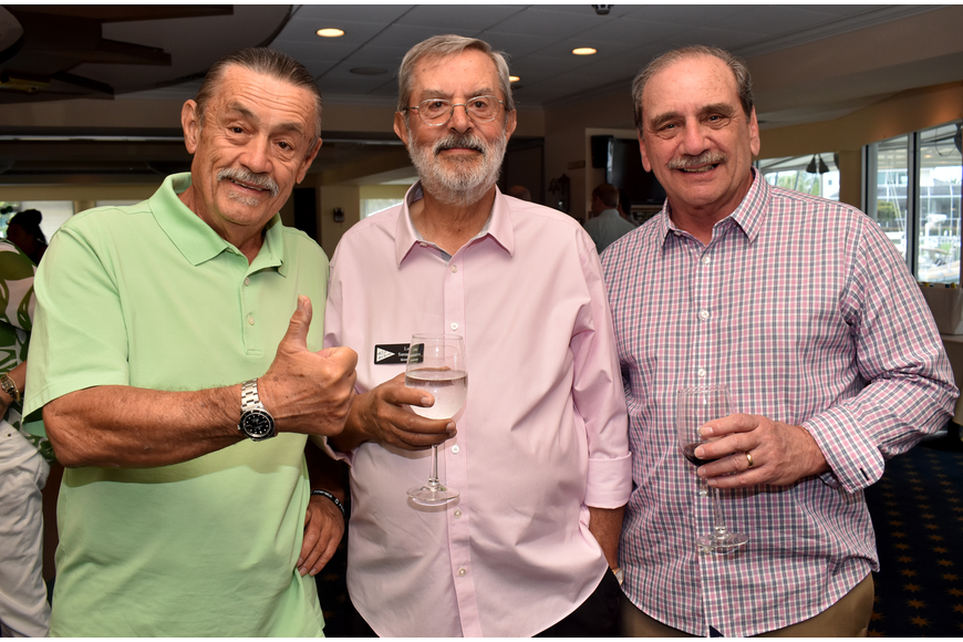 John Roble, Lou Sanandres and Emil Valente