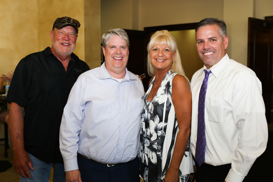 Co-Chairman Rick Rossiter, Stanley Eding, Executive Director Lucy Nicardi and Co-Chairman Greg Lineham