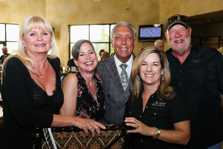 Ramona Glanz, Wendy Rossiter, Cherrie Kessler, Andrew Vac and Co-Chairman Rick Rossiter